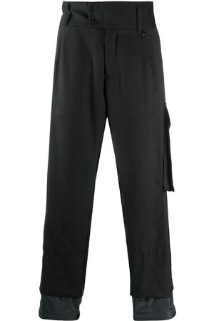 CORELATE Cargo-pocket layered trousers