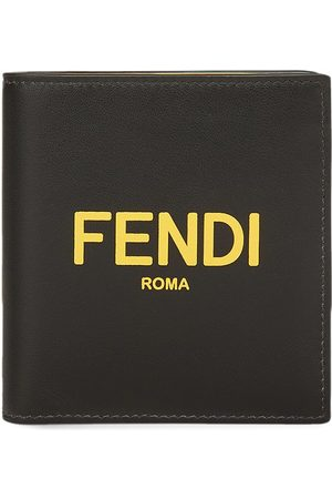 Fendi Logo-print square wallet
