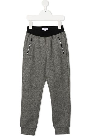 HUGO BOSS Embroidered logo track pants
