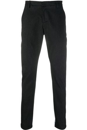 Dondup Slim-fit chevron-weave trousers