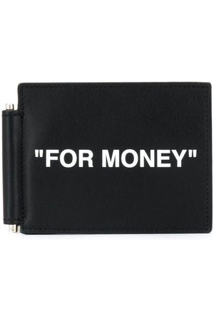 OFF-WHITE Slogan-print note-holder