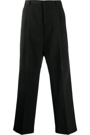 VALENTINO Embroidered -logo tailored trousers