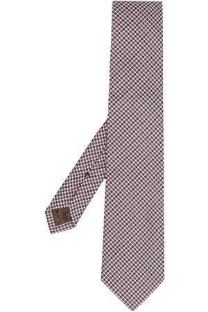 Church's Houndstooth print tie