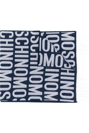 Moschino Logo-lettering scarf