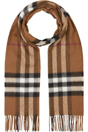Burberry Classic-check fringed scarf