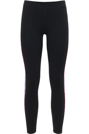 OFF-WHITE Athleisure Leggings W/ Logo Side Bands