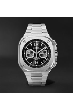 Bell & Ross BR 05 Automatic Chronograph 42mm Stainless Steel Watch, Ref. No. BR05C-BL-ST/SST