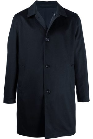 Kired Button-up cashmere parka coat
