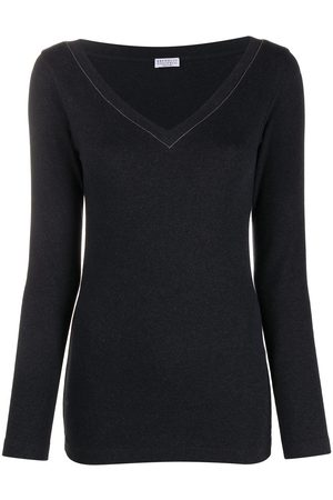 Brunello Cucinelli Long-sleeve fitted top