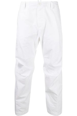 Dsquared2 Cropped tapered chino trousers