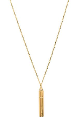 AMBUSH Oversized case pendant necklace