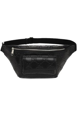 Gucci Gg Embossed Leather Belt Bag