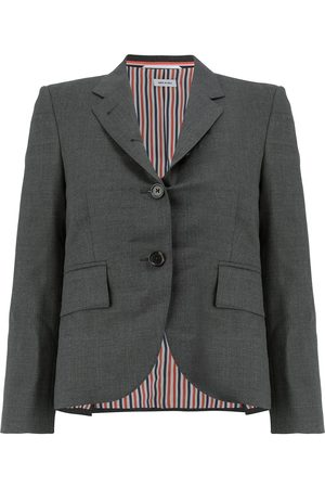 Thom Browne CLASSIC SINGLE BREASTED SPORT COAT IN SUPER 120'S TWILL
