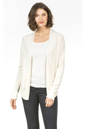 Lilla P Long Sleeve Open Cardigan - Dogwood