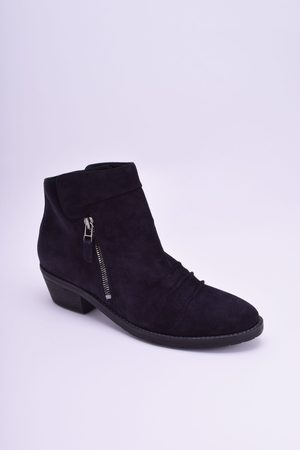 Kennel & Schmenger Kim Suede Ankle Boot in Pacific
