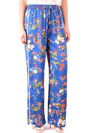Pinko Floral Wide Leg Trousers