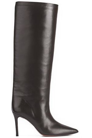 Pura Lopez Nappa Leather Tall Boots
