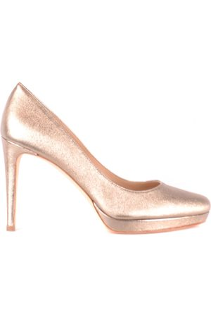 The Seller Platform Heels in Rose Gold
