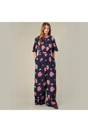 Emily and Fin Remi Jumpsuit - Autumn Gerberas