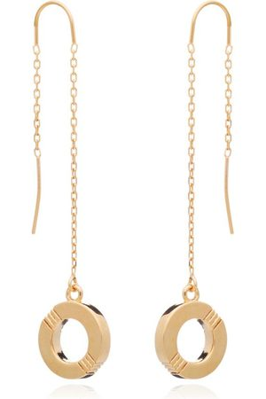 Cabbage White Infinity Drop Ear-rings