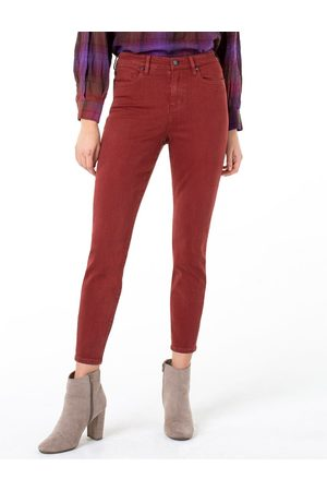 Liverpool Jeans Company Abby High Rise Skinny - Cherrywood