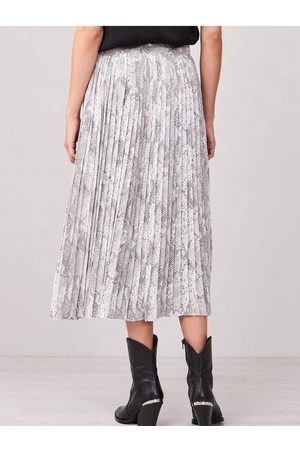 REPEAT cashmere Women Printed Skirts - Women's Repeat 800062 Snake Print Skirt in