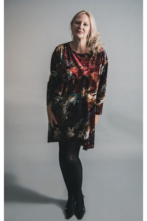 Out Of Xile Women Tunics - BUTTERFLY VELVET TUNIC