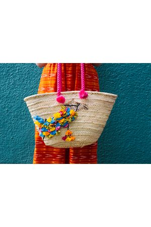 Uzma Bozai Women Beach Bags - Camel Beach Bag