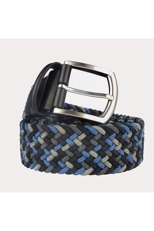 Anderson's Andersons Woven Textile Belt - Shades of Grey &