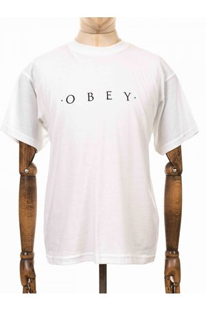 Obey Clothing Novel Sustainable Tee - Colour: