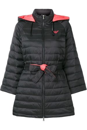 Emporio Armani Belted Padded Coat Jacket