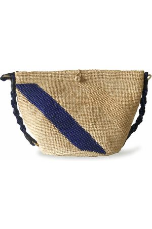 MARAINA LONDON ANNABEL beach bag- Natural