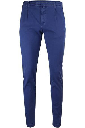 Briglia 1949 1949 Slim Fit Cotton Trouser With Turn Up