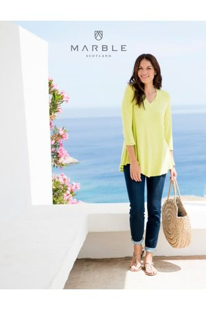 Marble 5698 Lime 163 Tunic