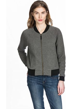 Lilla P Quilted Bomber Jacket