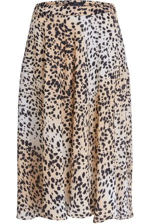 SET Set Back Cheetah print midi skirt 69383
