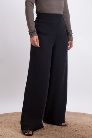 CREA Wool Wide Trouser
