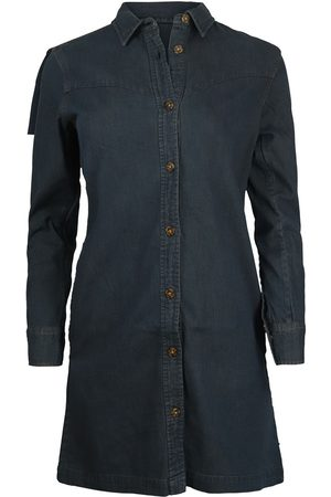 Scotch&Soda Scotch & Soda Ams Blauw Denim Shirt Dress