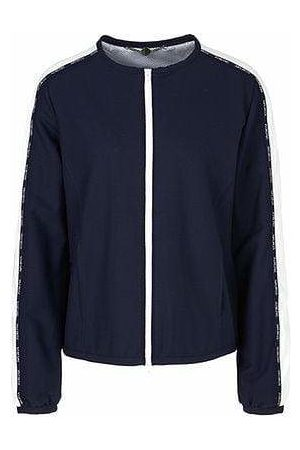 Marc Cain Sports Blouson Jacket with striped Inserts PS 31.29 W26