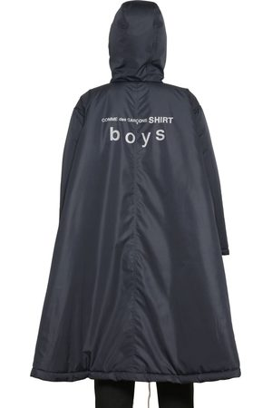 Comme des Garçons Hooded Techno Padded Poncho