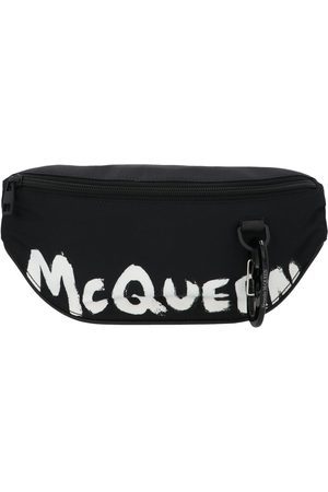 Alexander McQueen MEN'S 627254HWC1K1070 POLYAMIDE BELT BAG