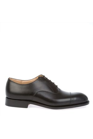 Church's MEN'S EEB0039XMBLACK LEATHER LACE-UP SHOES