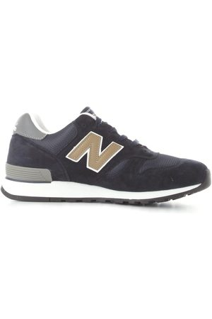 New Balance MEN'S NBM670NNG LEATHER SNEAKERS