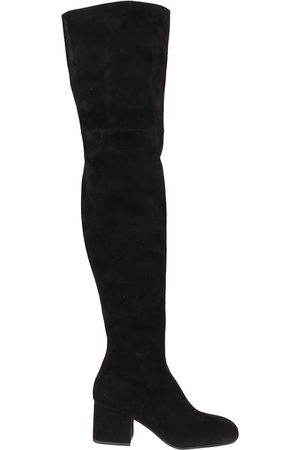 Marni WOMEN'S STMS005306P358000N99 SUEDE BOOTS