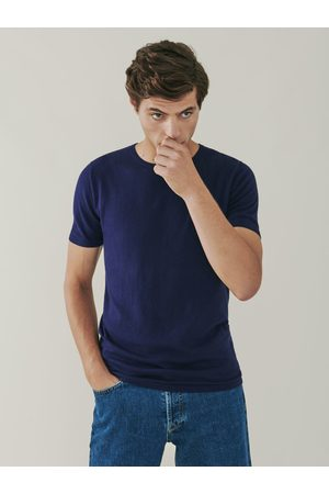 MrQuintessential Ark Cotton and Cashmere T Shirt