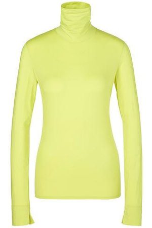 Marc Cain Women T-shirts - Sports Stretchy Roll Neck Top 411 PS 48.14 J83