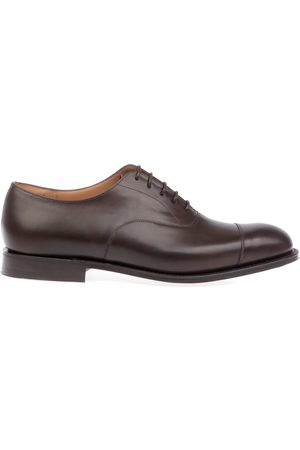 Church's MEN'S CONSULNEVADAEBONY LEATHER LACE-UP SHOES