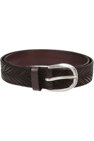 Orciani Men Belts - MEN'S U07861EBANO LEATHER BELT