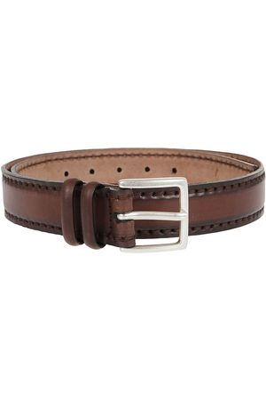 Orciani Men Belts - MEN'S U07847EBANO LEATHER BELT