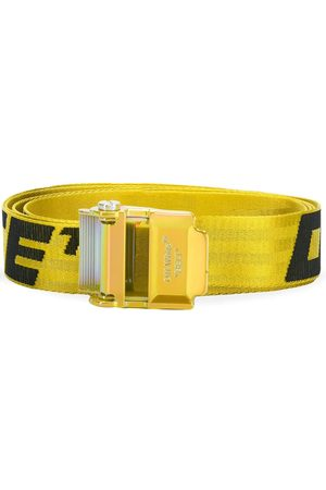 OFF-WHITE MEN'S OMRB034S20F420416010 POLYESTER BELT